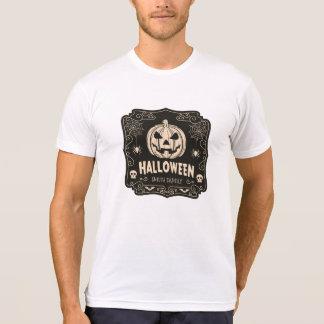 Vintage Halloween Jack-O-Lantern. Add Family Name. T-Shirt