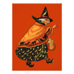 Vintage Halloween Old Witch