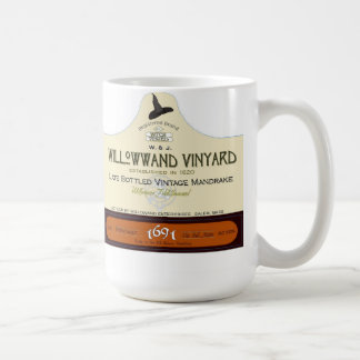 Vintage Halloween Potion Label Mandrake Coffee Mug
