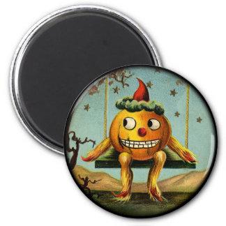 Vintage Halloween Pumpkin Magnet
