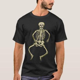 Vintage Halloween Skeleton Shirt