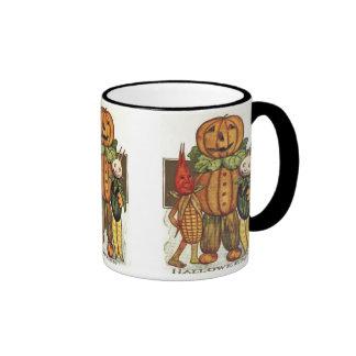 Vintage Halloween Veggies Mug