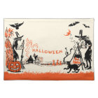 Vintage Halloween Witch Placemat