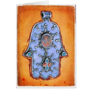 Vintage Hamsa Card