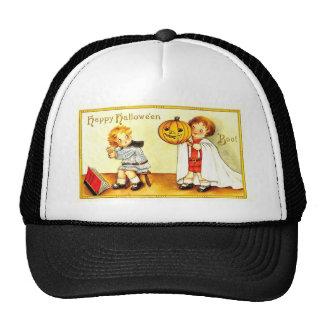 Vintage Happy Halloween Kids Hats