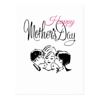 Vintage Happy mother s day Post Cards