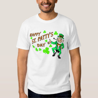 Vintage Happy St. Patty's Day T Shirts