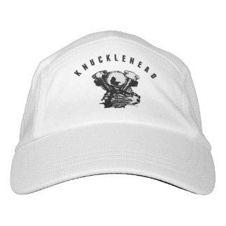 Vintage Harley Knucklehead Motorcycle Engine - Blk Hat