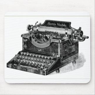 Vintage Harris Visible Typewriter Mouse Pad