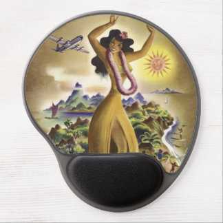 Vintage Hawaii 2 Gel Mouse Mats