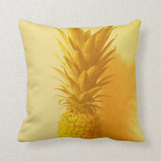 Vintage Hawaii Throw Pillow