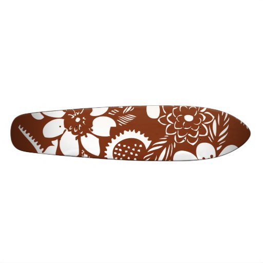 Vintage Hawaiian Skate Deck