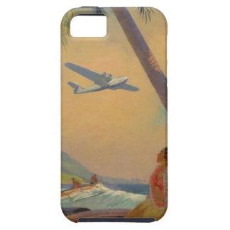 Vintage Hawaiian Travel - Hawaii Girl Dancer iPhone 5 Cover