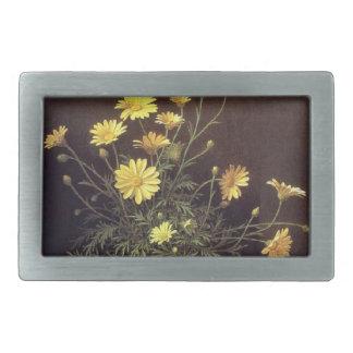 Vintage Heade Daisy Flowers Floral Belt Buckle