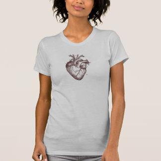 Vintage Heart - anatomy T-shirt
