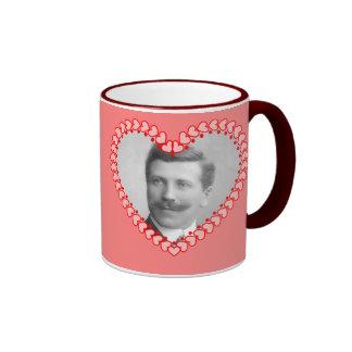 Vintage Heart Photo Mug