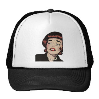 Vintage Heartbreak Romance Mesh Hats