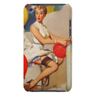 Vintage helium Party balloons Elvgren Pin up Girl iPod Touch Cover