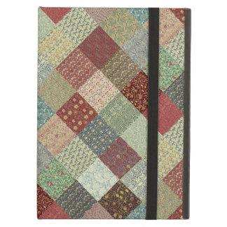 Vintage Heritage Patchwork iPad Air Cover