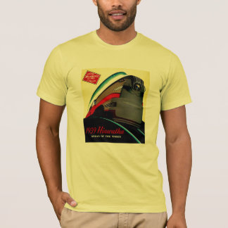 Vintage Hiawatha Streamlined Train T-Shirt