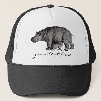 Vintage Hippo Hat