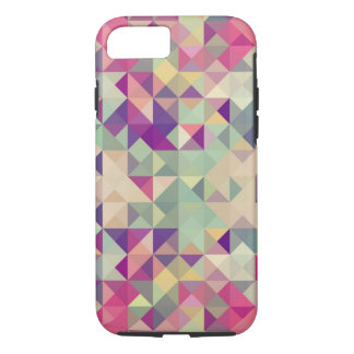 Vintage Hipsters Geometric Pattern. iPhone 7 Case