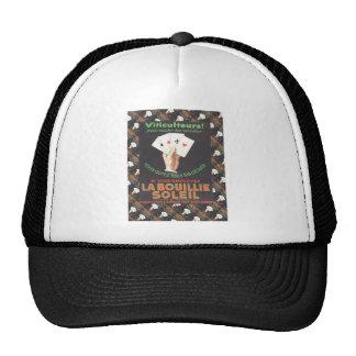 Vintage historic advertising hats