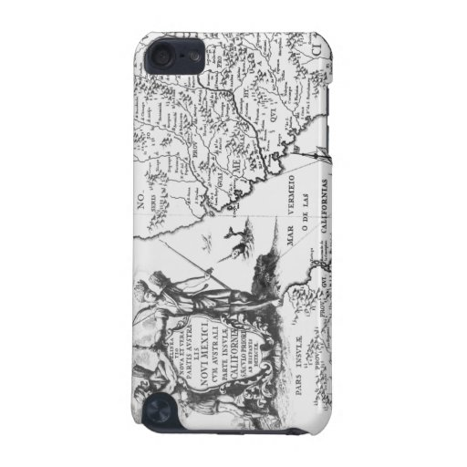 Vintage Historical Map iPod Touch case