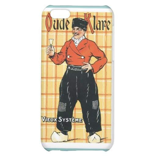 Vintage Holland Wine Liquor Product Label Cover For iPhone 5C
