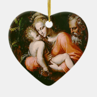VINTAGE HOLY FAMILY ORNAMENTS