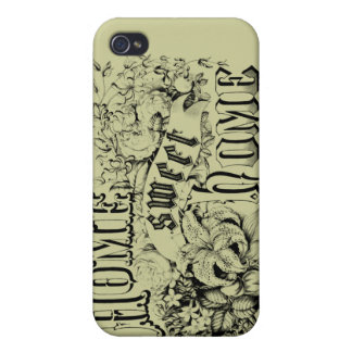 Vintage Home Sweet Home Home Decor and Gifts iPhone 4 Covers
