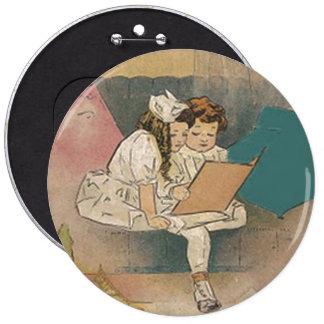 Vintage Homeschooling Children Pins