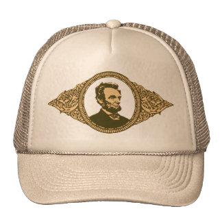 Vintage Honest Abe Lincoln President Portrait Trucker Hat