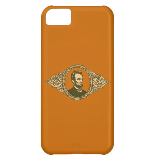Vintage Honest Abe Lincoln President Portrait Case For iPhone 5C