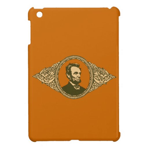 Vintage Honest Abe Lincoln President Portrait iPad Mini Cover