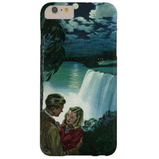 Vintage Honeymoon Love, Newlyweds at Niagara Falls Barely There iPhone 6 Plus Case
