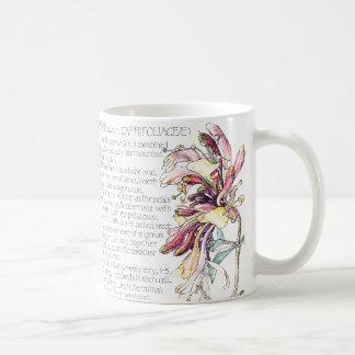 Vintage Honeysuckle Wildflower Flowers Mug
