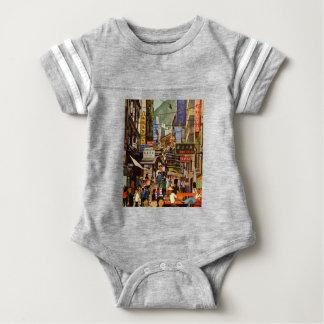 Vintage Hong Kong Baby Bodysuit
