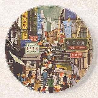 Vintage Hong Kong Coaster