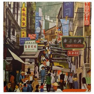 Vintage Hong Kong Napkin