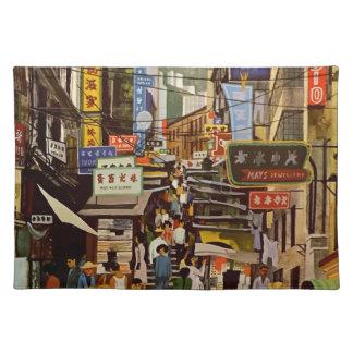 Vintage Hong Kong Placemat