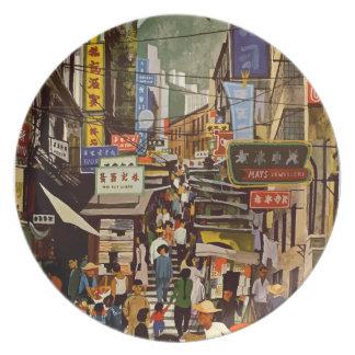 Vintage Hong Kong Plate