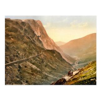 Vintage Honister Pass Cumbria England Postcard