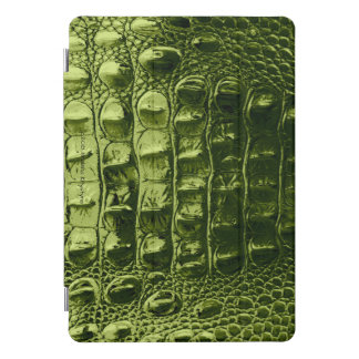 "VINTAGE ""HORNBACK"" ALLIGATOR AVACADO iPad PRO COVER"