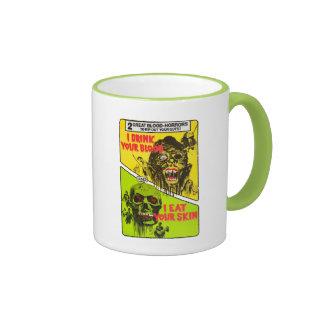 Vintage Horror Movie Mug