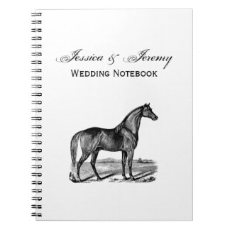 Vintage Horse Standing Notebook