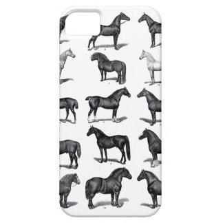 Vintage Horses iPhone Case