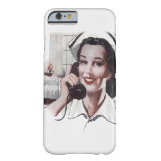 Vintage Hospital Ward Nurse on Telephone iPhone 6 Case
