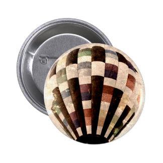 Vintage Hot Air Balloon button
