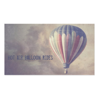 Vintage Hot Air Balloon Pack Of Standard Business Cards